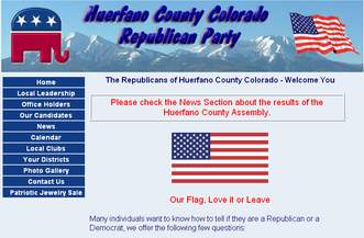 Huerfano County GOP